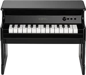 KORG KO-TINYPIANOBK tinyPiano Digital Toy Piano, Black