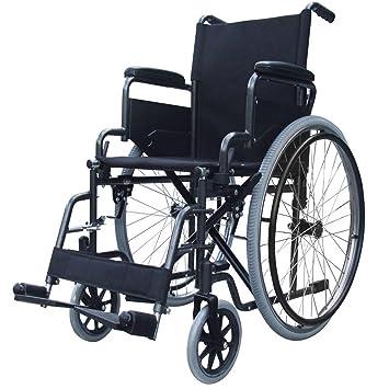 Amazon.com: Elite Care plegable autopropulsada ligero silla ...
