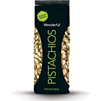 Deals on Wonderful Pistachios, Roasted and Salted, 32 Ounce