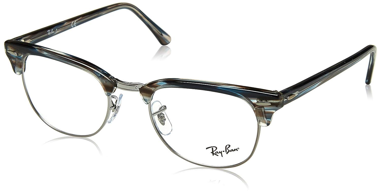 Ray-Ban Clubmaster, Monturas de Gafas Unisex Adulto