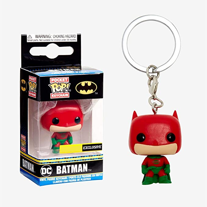 Amazon.com: POP! Funko Pocket Keychain - Batman - Exclusive ...