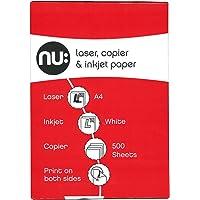 Nu A4 Copier Paper Ream - White (Ream of 500)