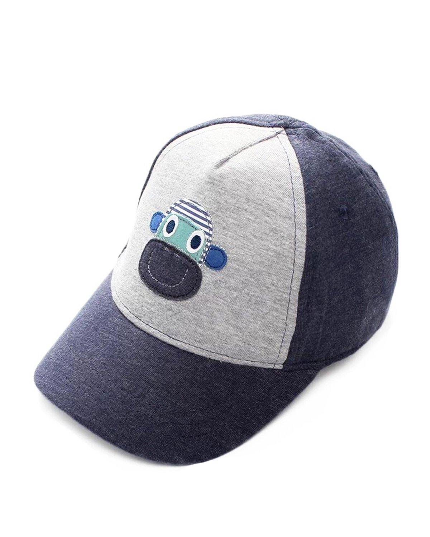 Kids Infant Cute Monkey/Stars Cotton Baseball Hats Sun Visors Cap, 52-54CM Head Girth,fits 4-6T, Monkey