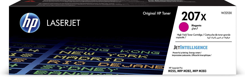 HP 207A Toner jaune LaserJet Grande Capacit/é Authentique W2212X pour HP Color LaserJet Pro M255 et HP Color LaserJet Pro M282//M283