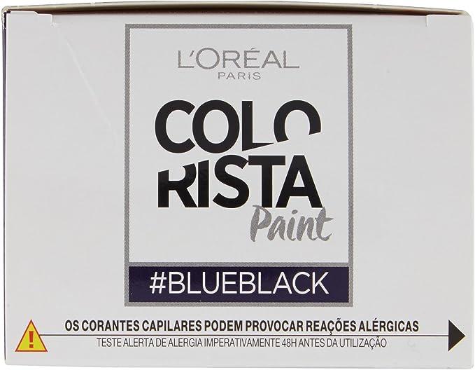 LOreal Paris Colorista Coloración Permanente Colorista Paint - Blueblack