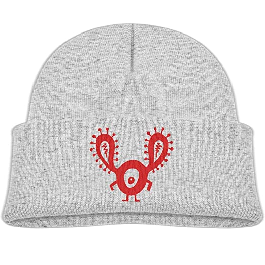 2a675b3000f Amazon.com  Beanie Caps Funny Red One Eye Monster Warm Knit Hats ...