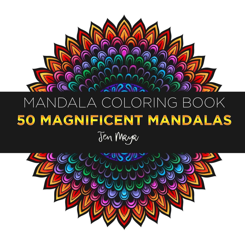 Amazon.com: Mandala Coloring Book : 50 Magnificient Mandalas ...