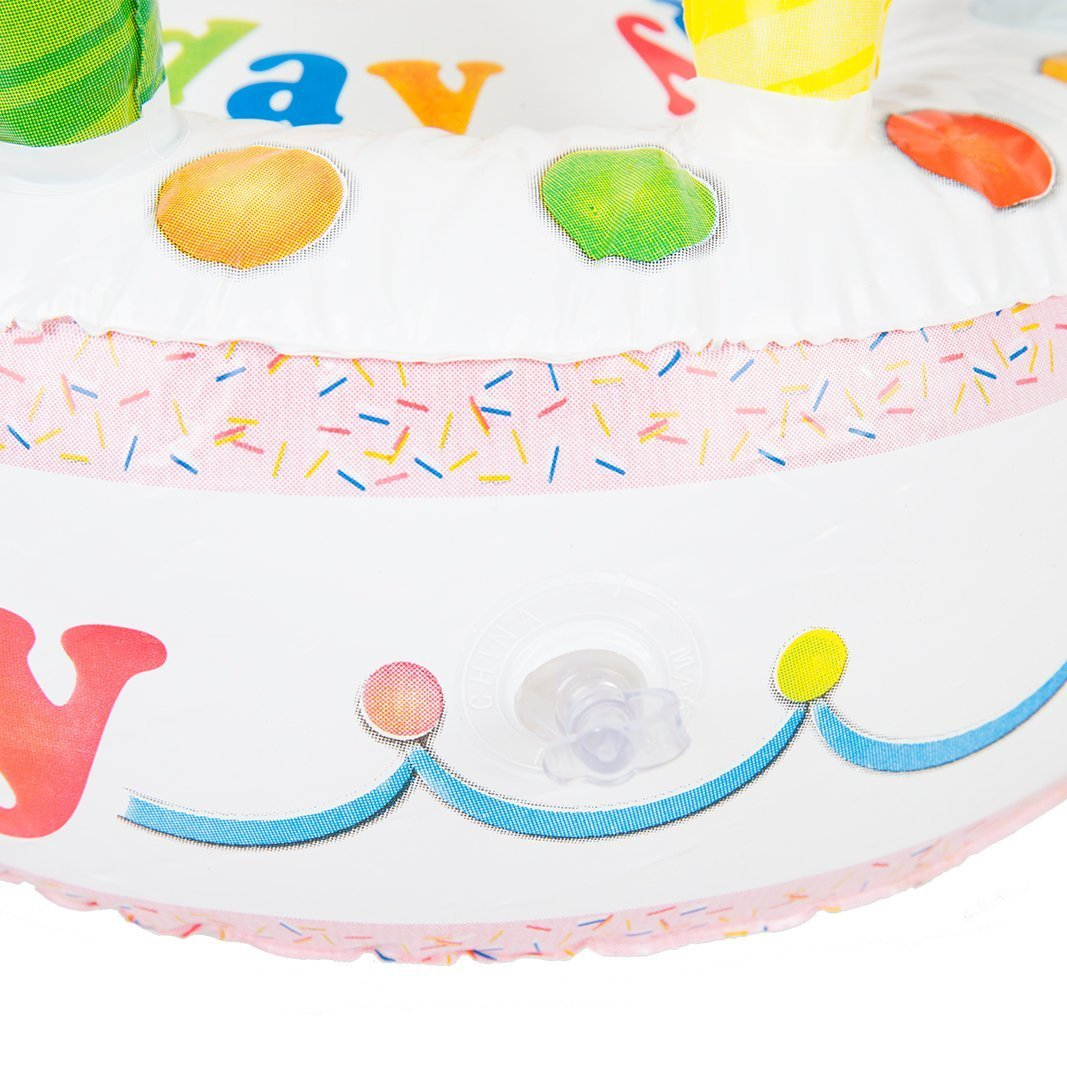 OOTB-Torta Inflable, Happy Birthday (91/4137): Amazon.es: Juguetes ...