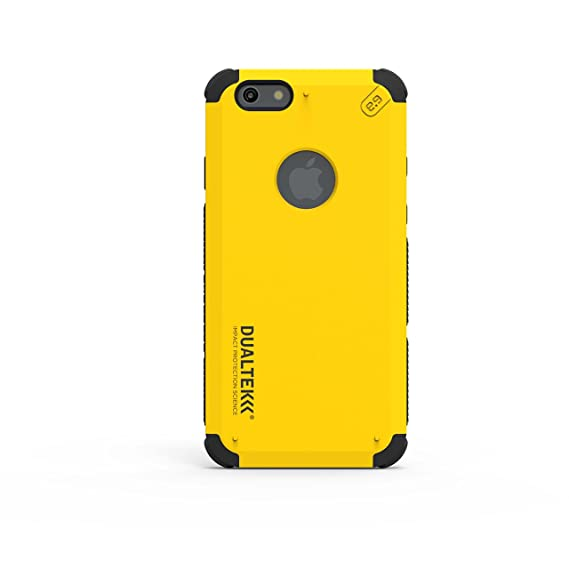 big sale 38a17 784a2 PureGear DualTek Snap On Durable Slim Protective Stylish Shock absorbing  Case for iPhone 6S /6/, Kayak Yellow