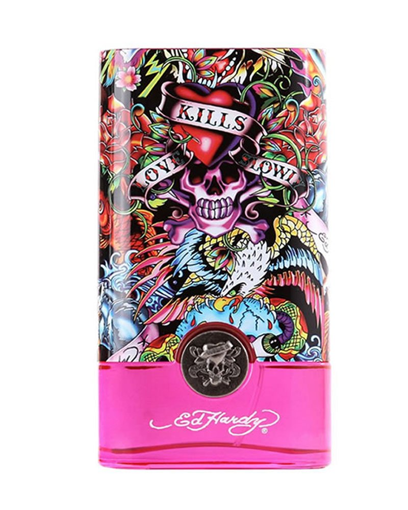 Ed Hardy Perfume For Women By Christian Audigier: Amazon.com : Ed Hardy Villain By Christian Audigier 4.2 Oz Eau De Parfum Spray For Women : Ed