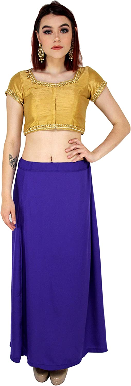Mermaid Sari Petticoat Girls Elasticated Petticoat Party Wear Waistband Skirt Lehenga Fabric Saree Shapewear Craft Indian Women Shapewear