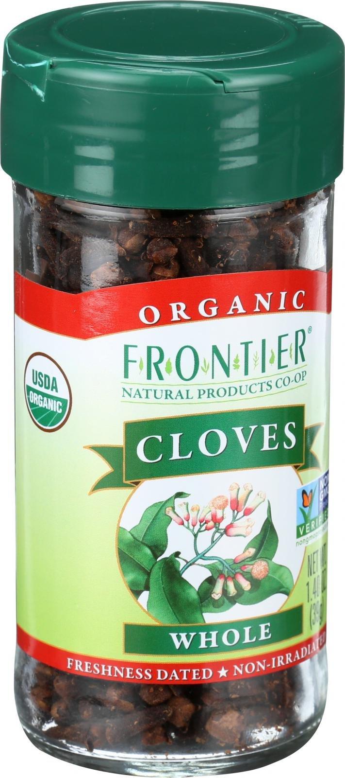 Frontier Herb Cloves - Organic - Whole - Kosher - Non GMO - 1.40 oz