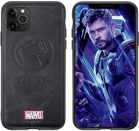 Marvel Avengers Coque iPhone XS Max Thor Case pour iPhone XS Max 6,5 Pouces Black