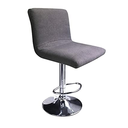 Bar Stool Chair Covers Cover Set Of 2 Leather Swivel