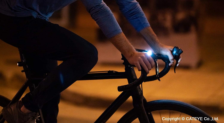 CatEye Ampp 500 Front Luz para Bicicleta, Unisex Adulto, Negro, Talla única: Amazon.es: Deportes y aire libre