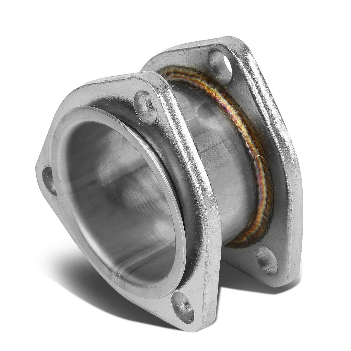 2 Inlet/Outlet Stainess Steel Exhaust 3-Bolt Flange