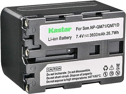 2x Batería 2000mAh Para Sony NP-FM30//NP-FM50//NP-FM70