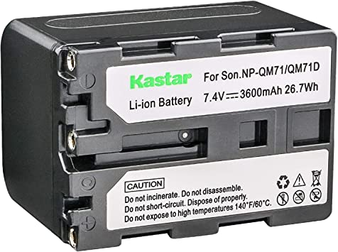 Battery Charger FOR NP-FM30 NP-FM50 SONY NP-FM500H CCD-TRV138 HDR-SR1 HDR-HC1
