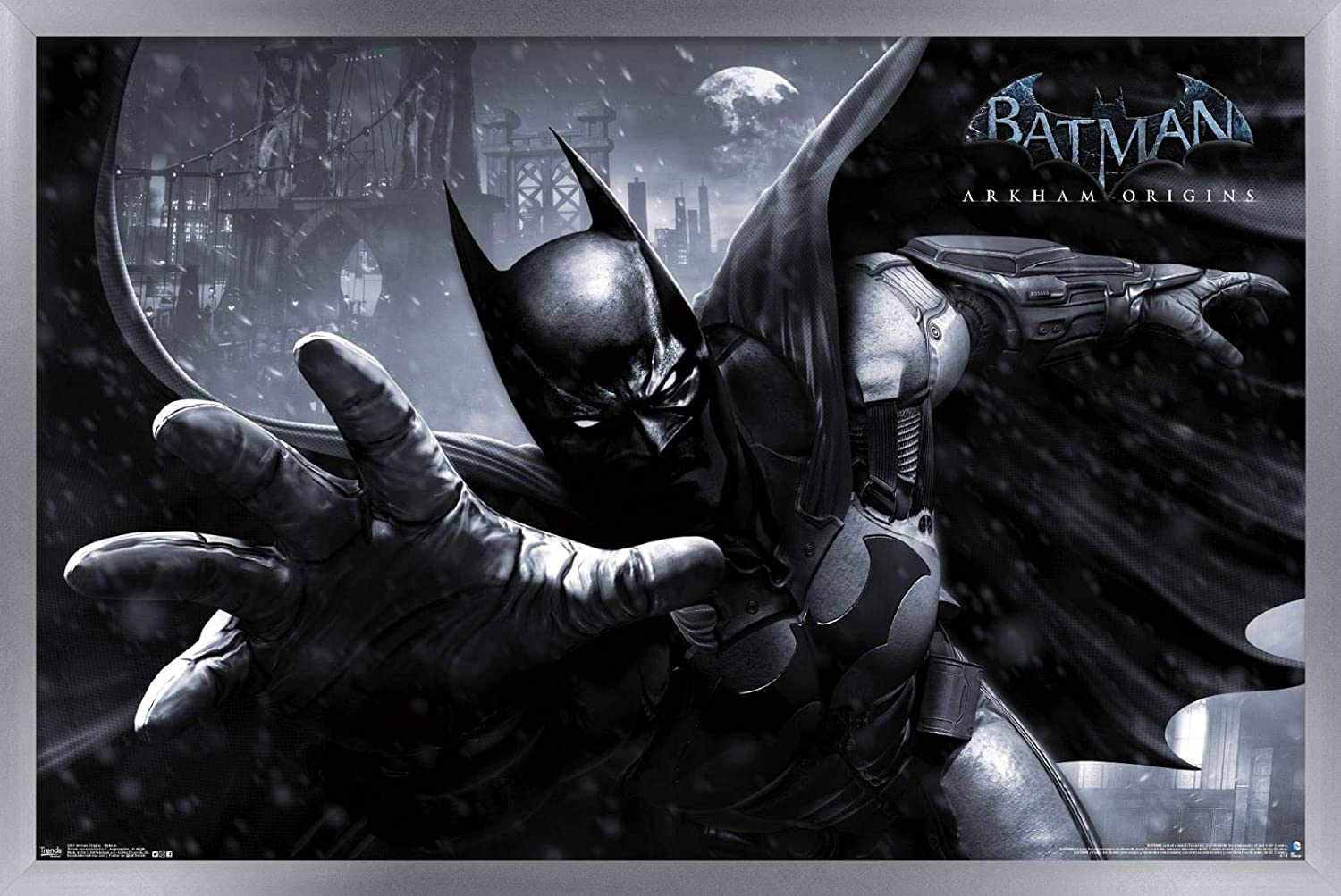 Amazon.com: Trends International Arkham Origins Batman Wall ...