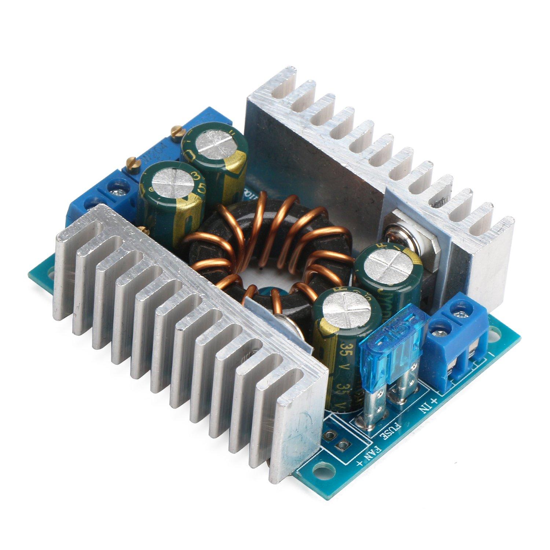 Boost Voltage Regulator Drok Step Up Converter Module 1050ma Led Flashlight Driver Board 5 Mode Circuit Dc 10 32v 12v 24v To 46v 36v 150w Cc 8a Constant Current Power Supply Volt Transformer Industrial Scientific