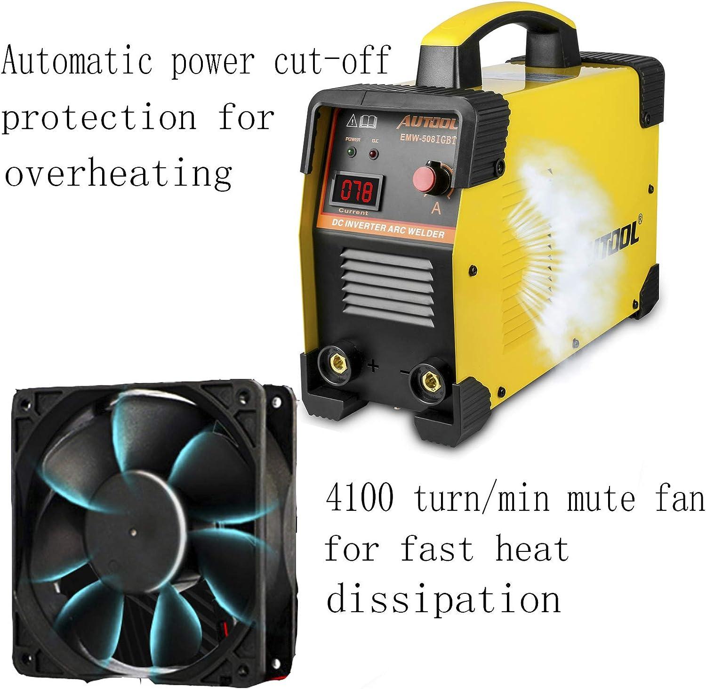 AUTOOL EWM-508 Arc Inverter Welder IGBT 20-160A Handheld Welding 110V US Plug