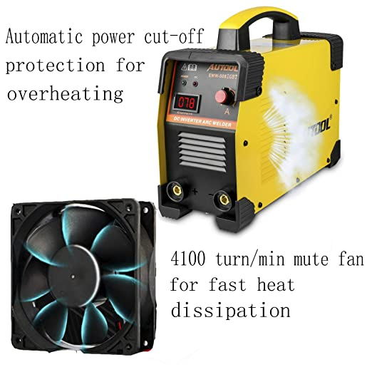 AUTOOL EWM-508 ARC-200 DC Inverter Welder, 20-160Amp IGBT Welding Machine Kit, AC 110V/220V Dual Voltages Portable Electric Welder - - Amazon.com