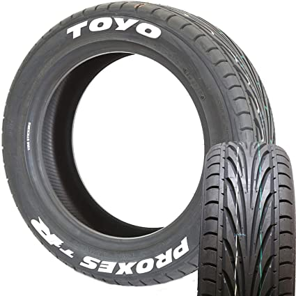 Toyo Tires White Letters >> Amazon Com Toyo Tires Proxes T1r Radial Tire With White