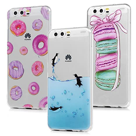 custodia silicone huawei p10 plus animali