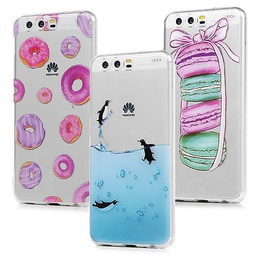 3 opinioni per 3x Cover Huawei P10, Custodia Silicone