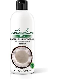 Naturalium Gel de baño aroma Coco - Gel de ducha hidratante con olor a fruta fresca