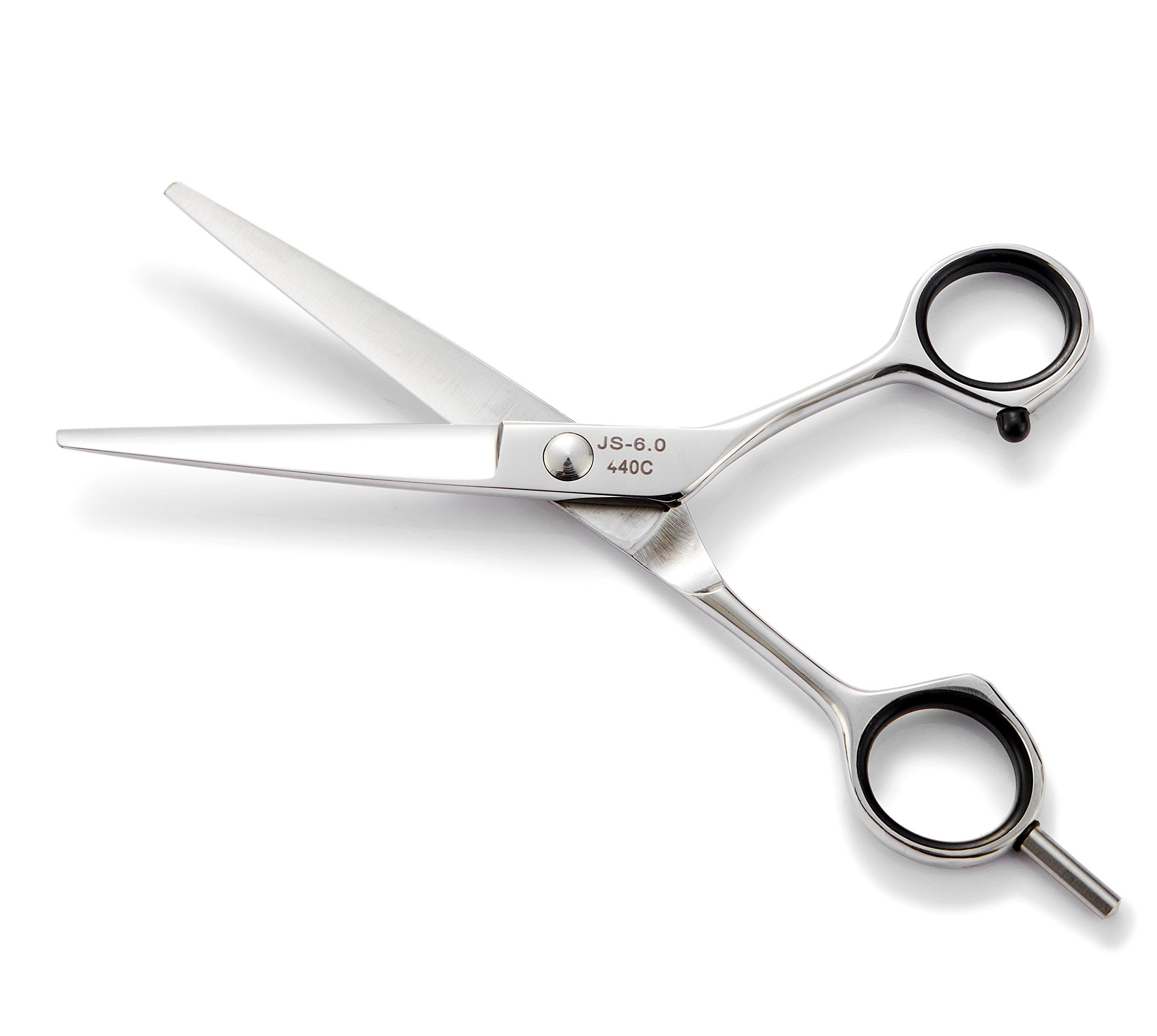 2018 Professional Hair Cutting Scissors Set,Japanese 6.5 Inch Hair Scissors Teflon Shears Hairdressing Scissors Barber Thinning Scissors Hairdresser Razor Edge Haircut Right hand use by JAVENPROLIU (Image #8)