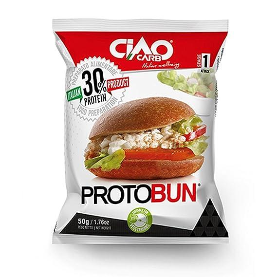 Bollo de Pan CiaoCarb Protobun Fase 1 Natural 1 unidad 50g