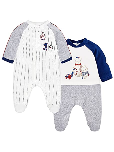 Mayoral 18-02746-089 - Pijama para bebé niño 0-1 Mes