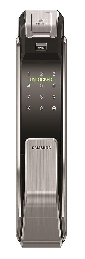 Samsung Digital Door Lock SHS-P718 Fingerprint Push Pull Two Way Latch Mortise  sc 1 st  Amazon.com & Amazon.com: Samsung Digital Door Lock SHS-P718 Fingerprint Push Pull ...