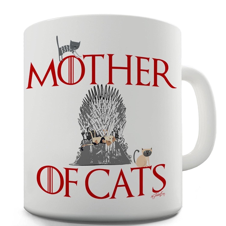 TWISTED ENVY Trenzado Envy Madre de Gatos Taza de cerámica de la Novedad Regalo: Amazon.es: Hogar