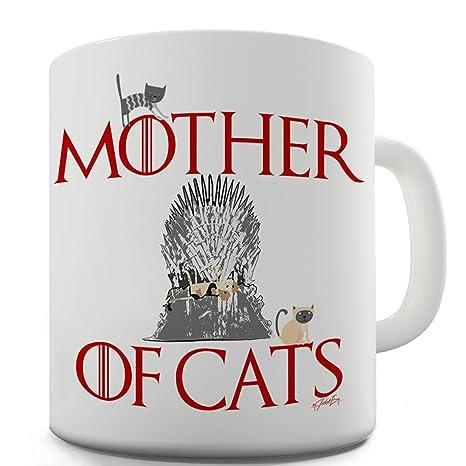 TWISTED ENVY Trenzado Envy Madre de Gatos Taza de cerámica de la Novedad Regalo