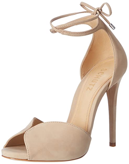 Schutz S013871078V Sandali con Cinturino alla Caviglia Donna Beige