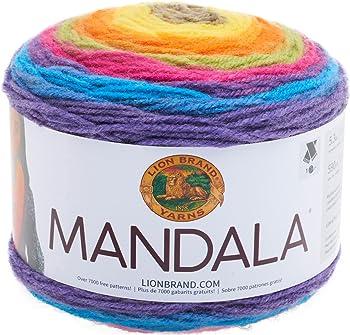Lion Brand Yarn Mandala