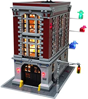 Amazoncom Lego Ghostbusters 75827 Firehouse Headquarters Building