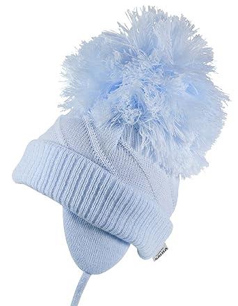 6852ea417243b Satila-Of-Sweden Boys Girls Large Pom Pom Hat Style  Jim  3-18 Months (0-3  Months (38-40)