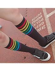 Medias Calcetines lindo de deportes corriendo Yesmile ❤ 1 par de calcetines altos muslo Sobre