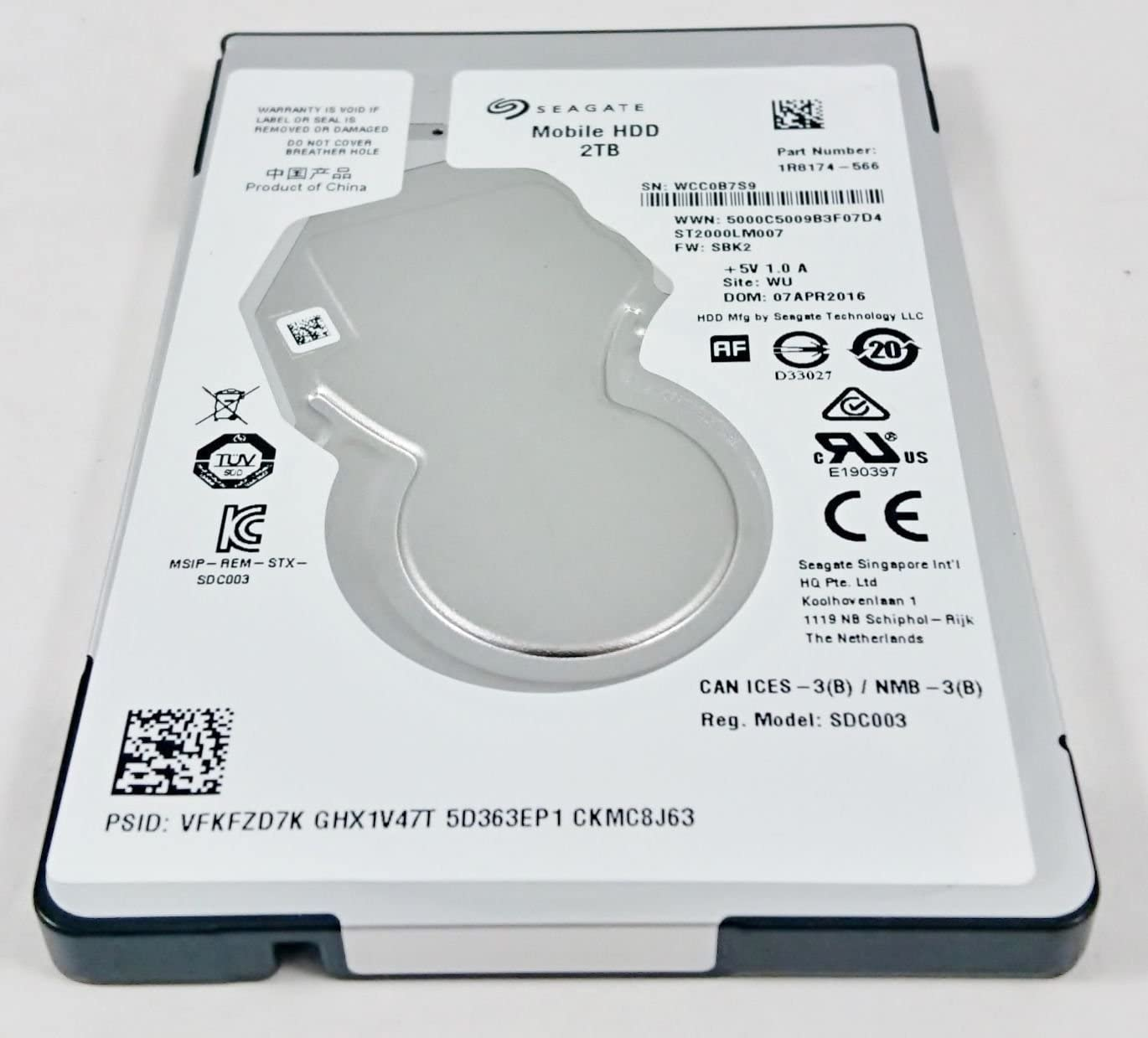 2TB SATA Notebook Laptop 2.5 Hard Drive for Sony Playstation PS4, MacBook Pro