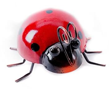 Bon Metal Ladybug Indoor Or Outdoor Home Garden Or Yard Decor 4u0026quot ...
