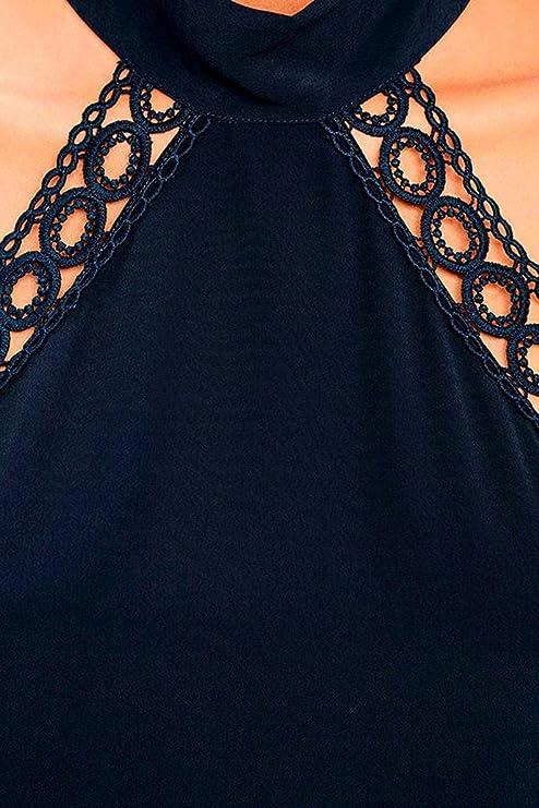 SMARTLADY Mujer Elegante Vestidos Sin mangas para Fiesta Cóctel (L): Amazon.es: Ropa y accesorios