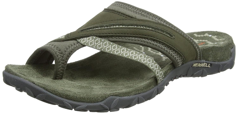 Merrell Women's Terran Post II Sandal B074N8DLDT 7 B(M) US|Dusty Olive