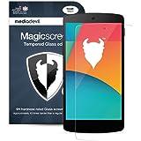 Nexus 5 (2013) Pellicola Protettiva in Vetro Temperato, MediaDevil Magicscreen Crystal Clear (Invisibile) - (1 x Pellicola Frontale)