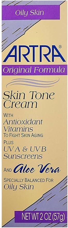 6 Pack - Artra  Skin Tone Cream for Oily Skin, 2 oz Payot - Les Sensitives Douceur Doux Gommage Granule-Free Exfoliator - 200ml/6.7oz