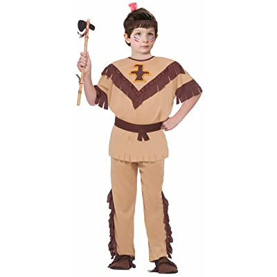 Forum Novelties Native American Brave Costume, Child's Medium: Toys & Games