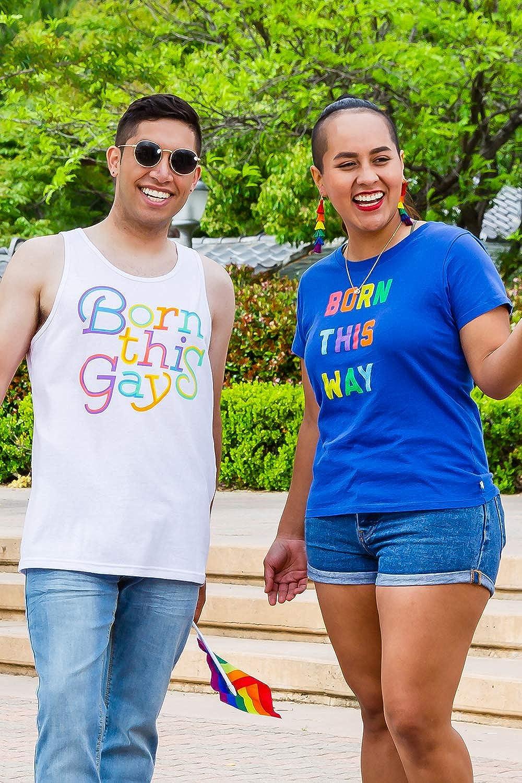 Mens Pride Tank Tops Funny Rainbow Themed Pride Shirts