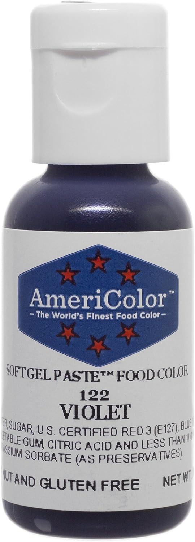 Americolor Soft Gel Paste Food Color.75-Ounce, Violet